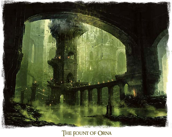 The fount of orna