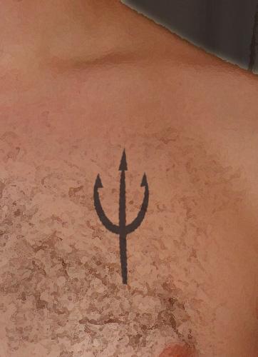 Trident tattoo