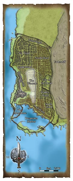 Waterdeep map