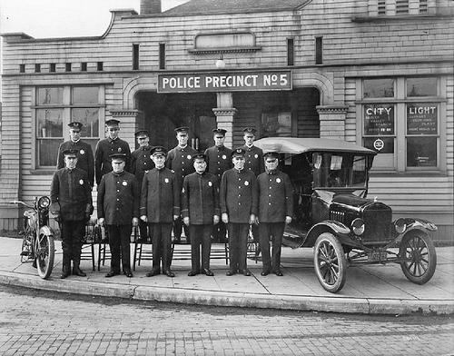Posterunek policji w Greenwood