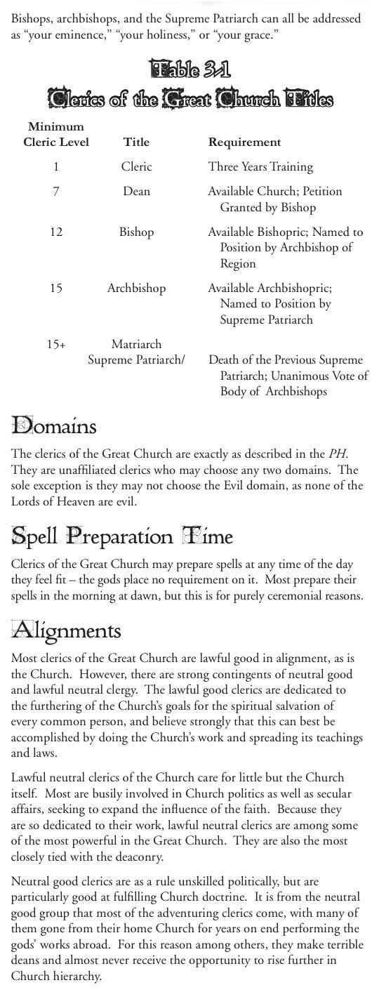 Clerics of the great church .page 2