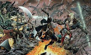 Eberron battle scene2