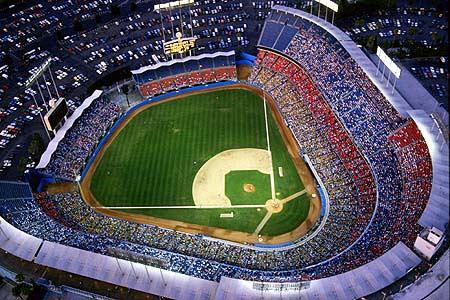 Dodger stadium pic