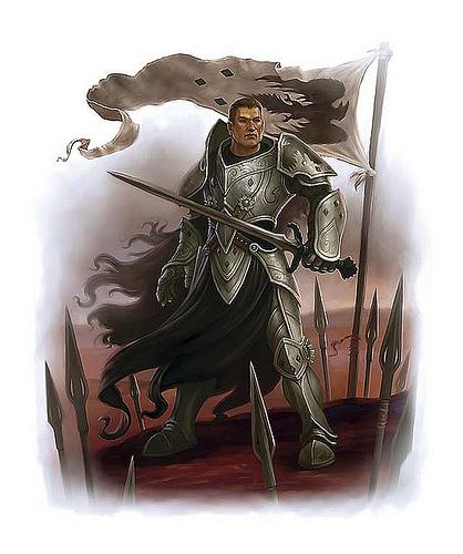Graff human warlord