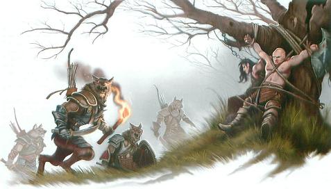Gnoll sacrifice