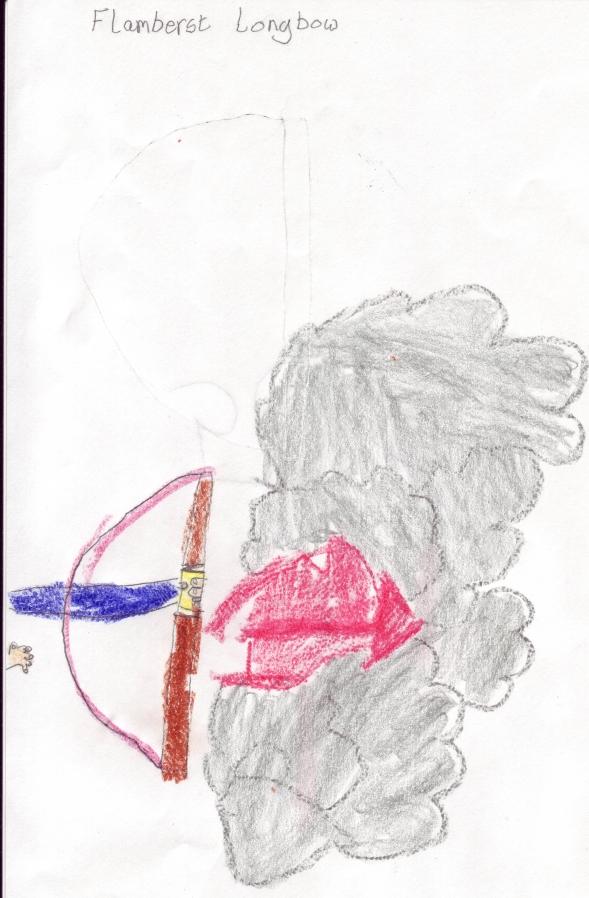 Claw s flameburst longbow