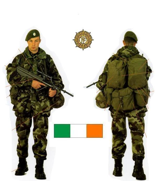 Irish reserve army 1