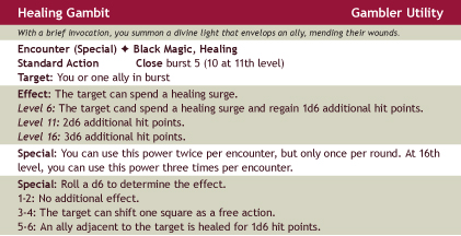 Healinggambit