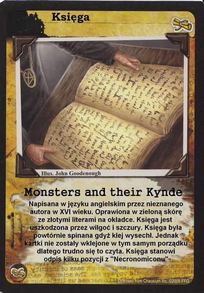 "Księga ""Monsters and their kynde"""