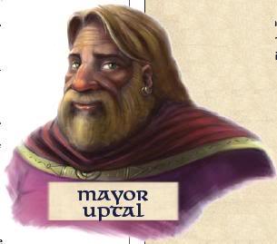 Mayor uptal