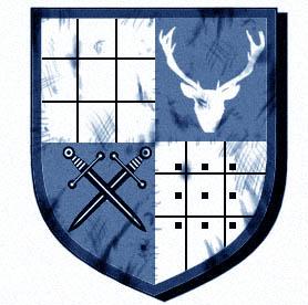 Helvennians shield empt yblue