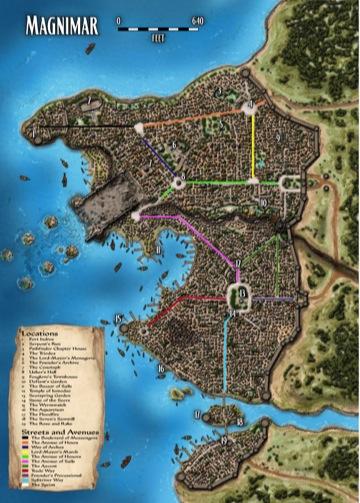 Magnimar map