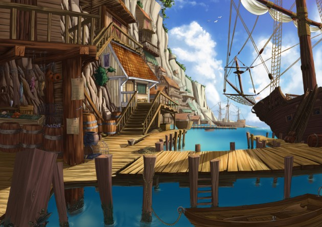 Pirats town by jamga 630x445