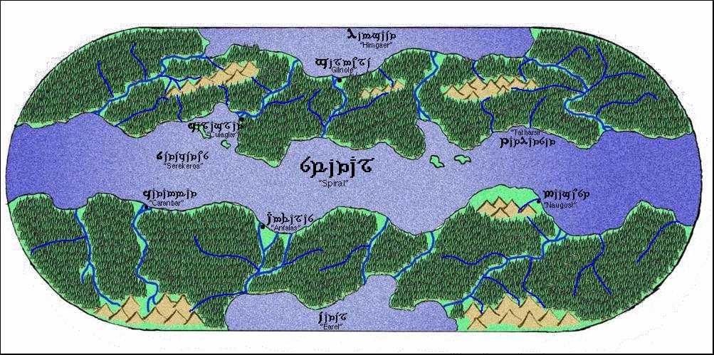 Spiral map