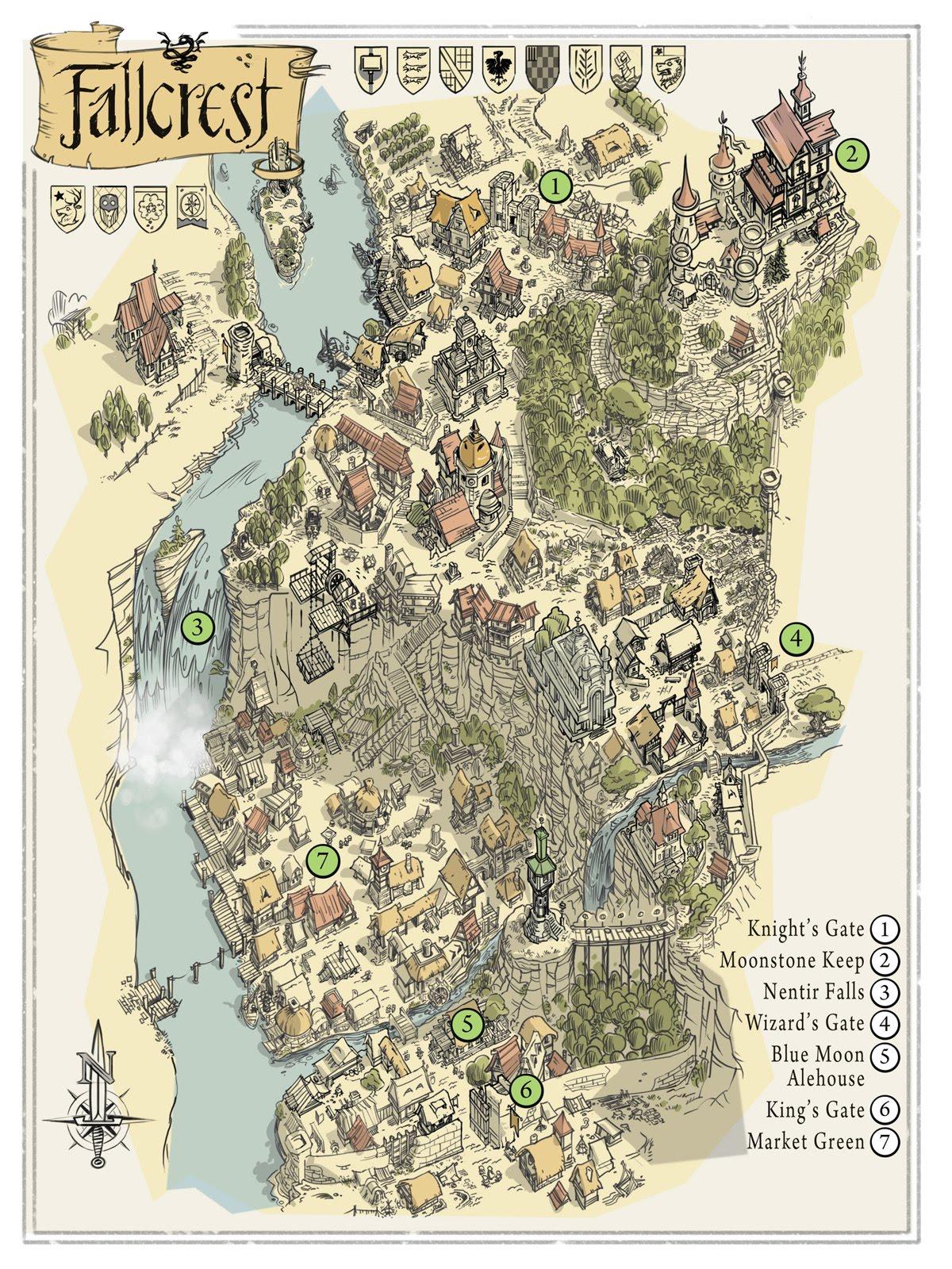 Fallcrest new map