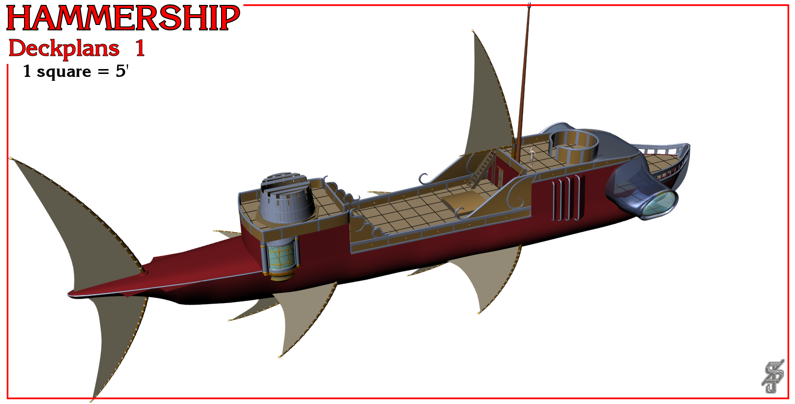 Hammership layout 1