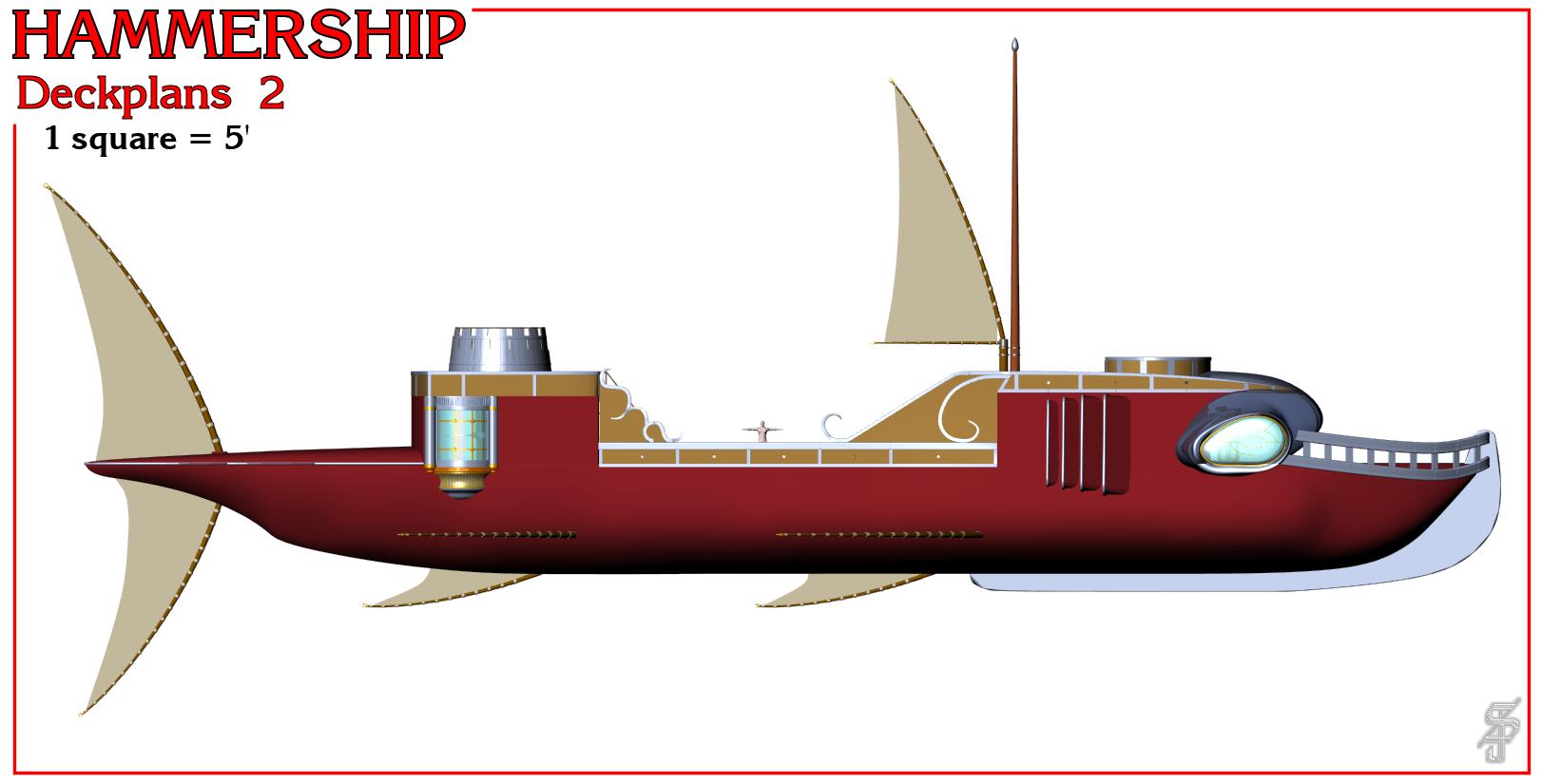 Hammership layout 2