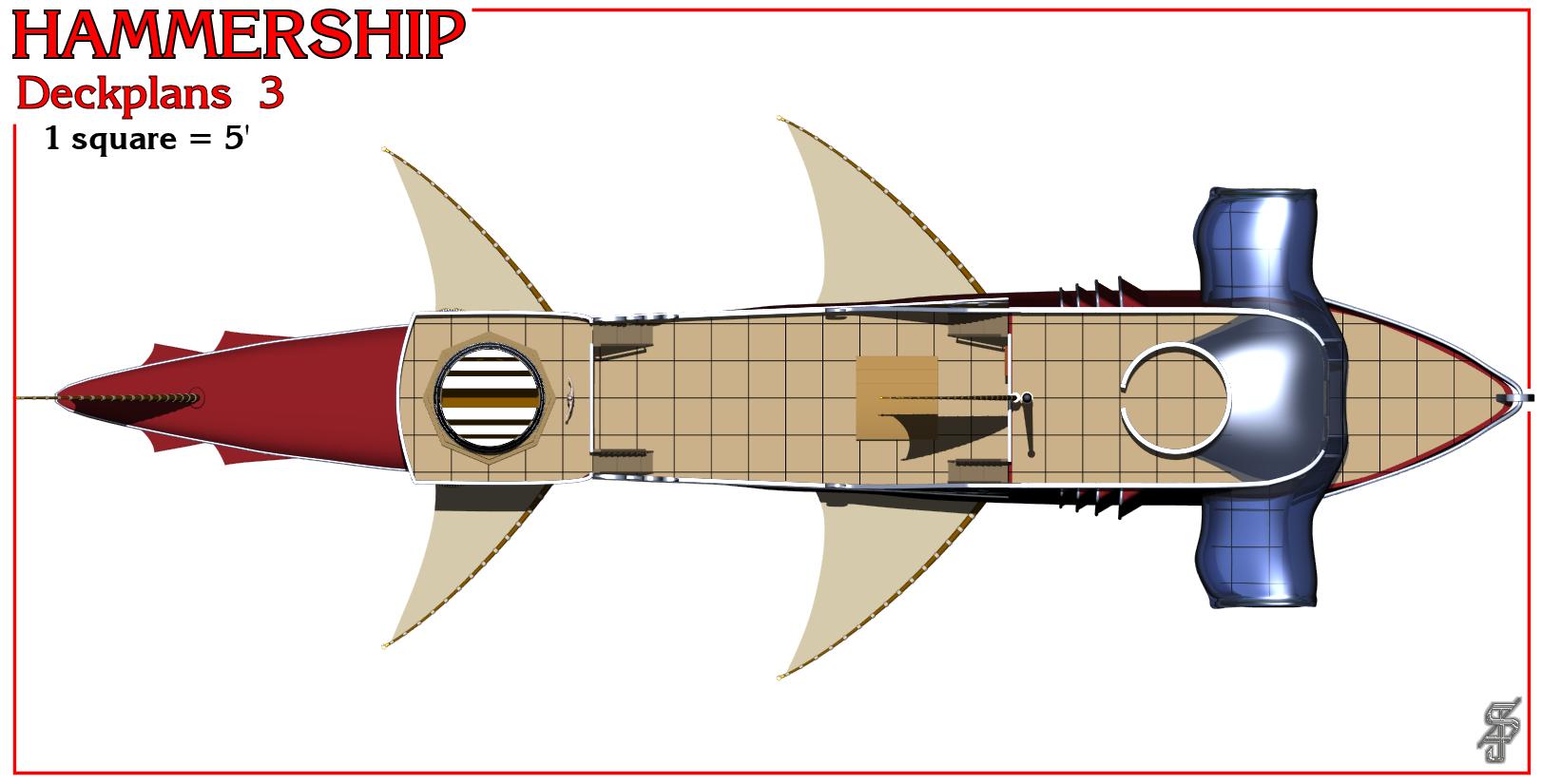 Hammership layout 3