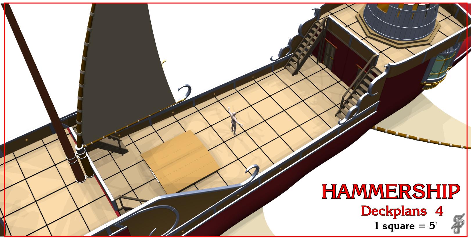 Hammership layout 4