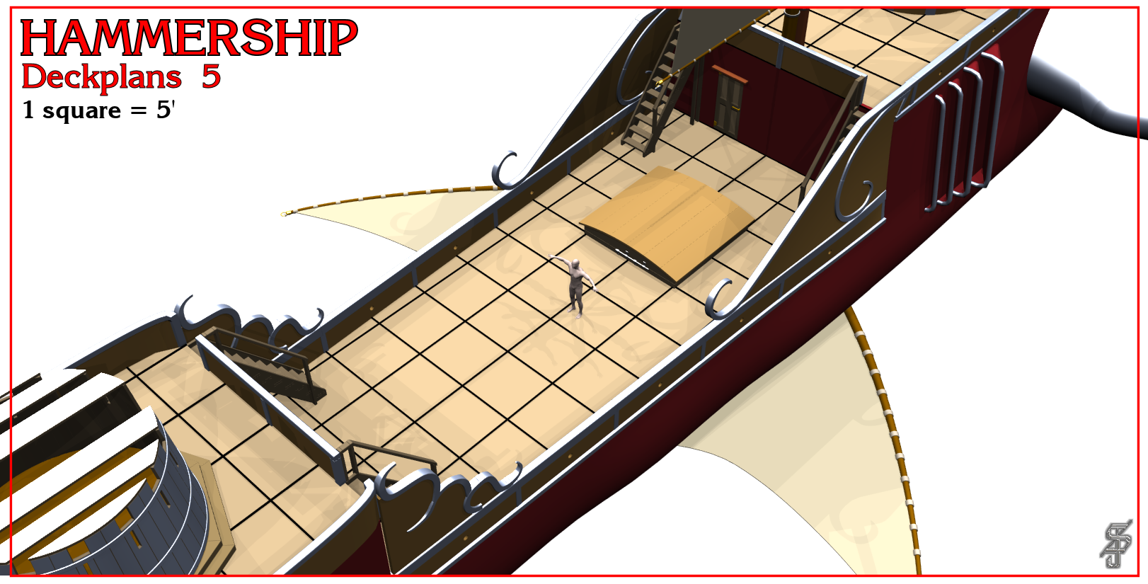 Hammership layout 5