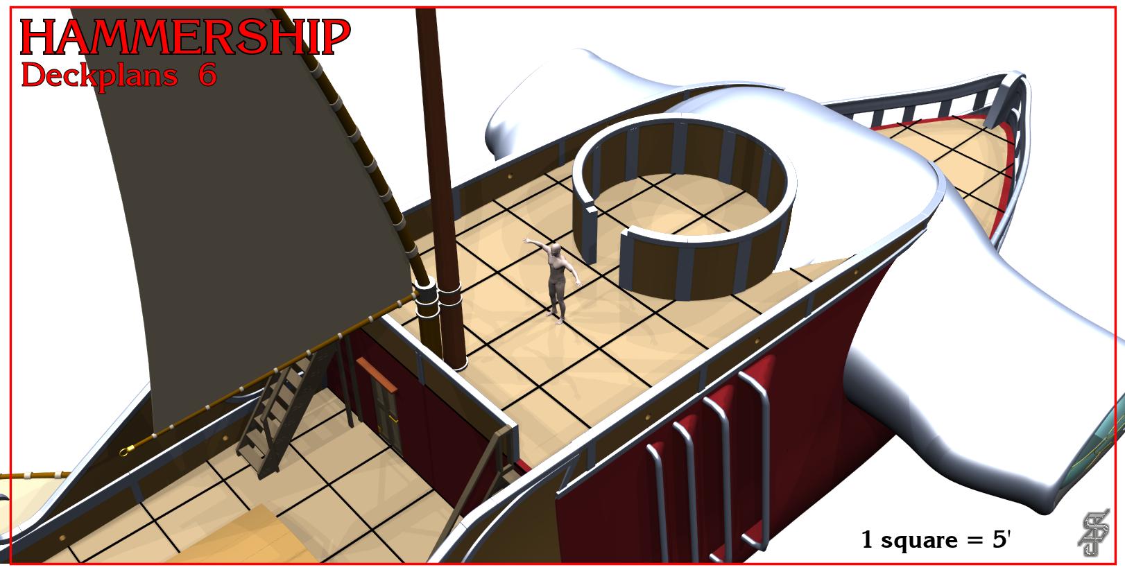 Hammership layout 6
