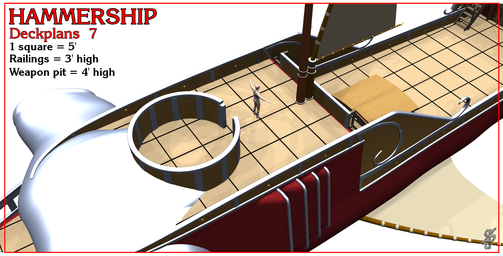 Hammership layout 7