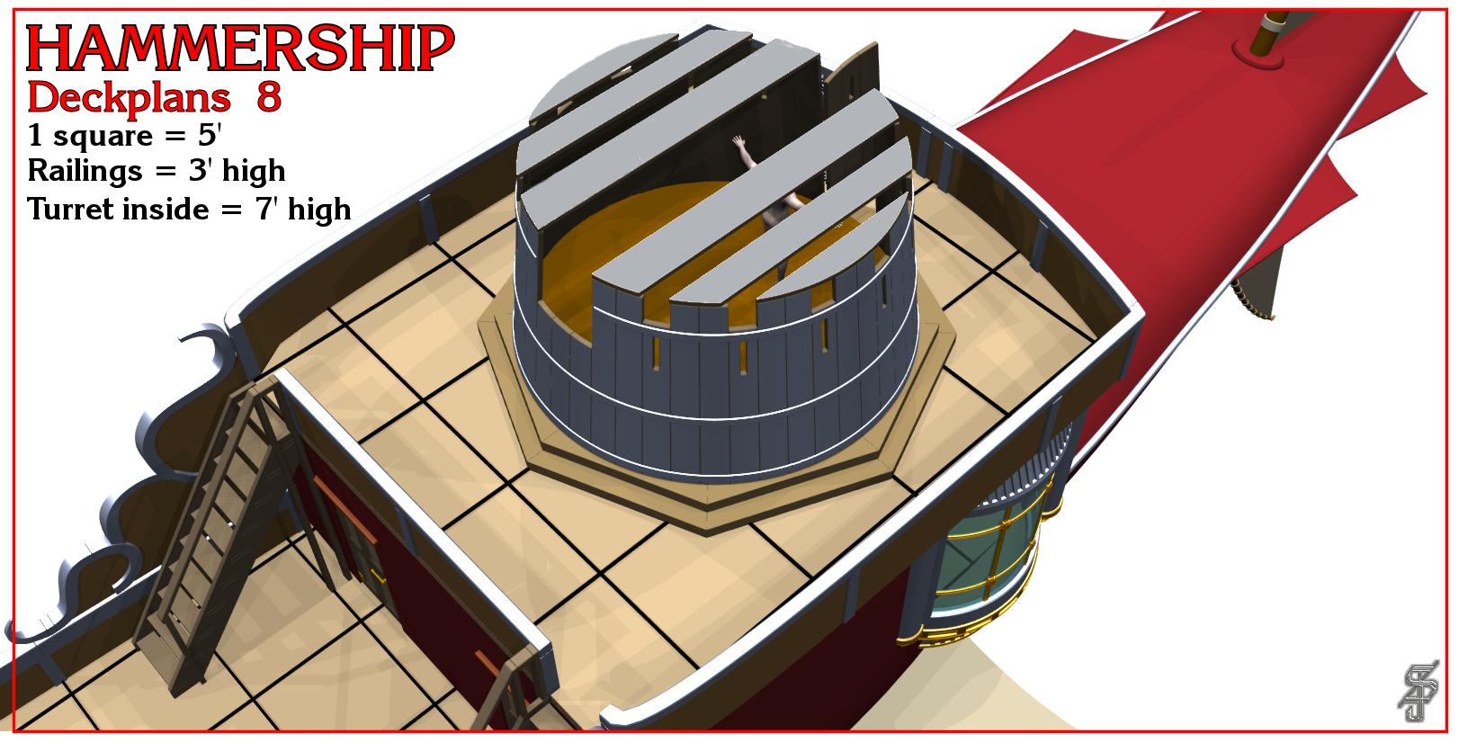 Hammership layout 8