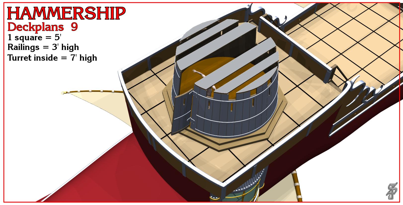 Hammership layout 9