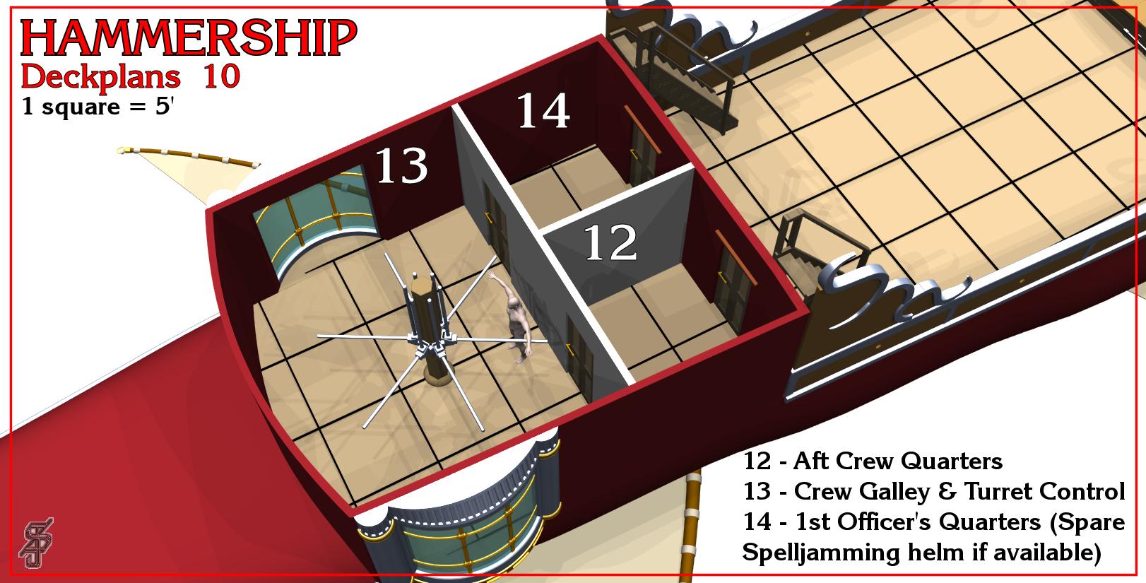 Hammership layout 10