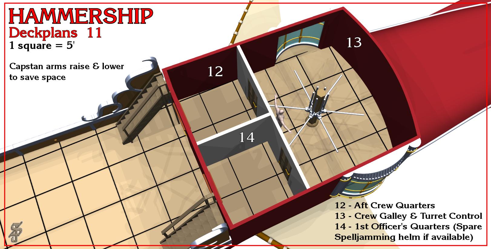 Hammership layout 11