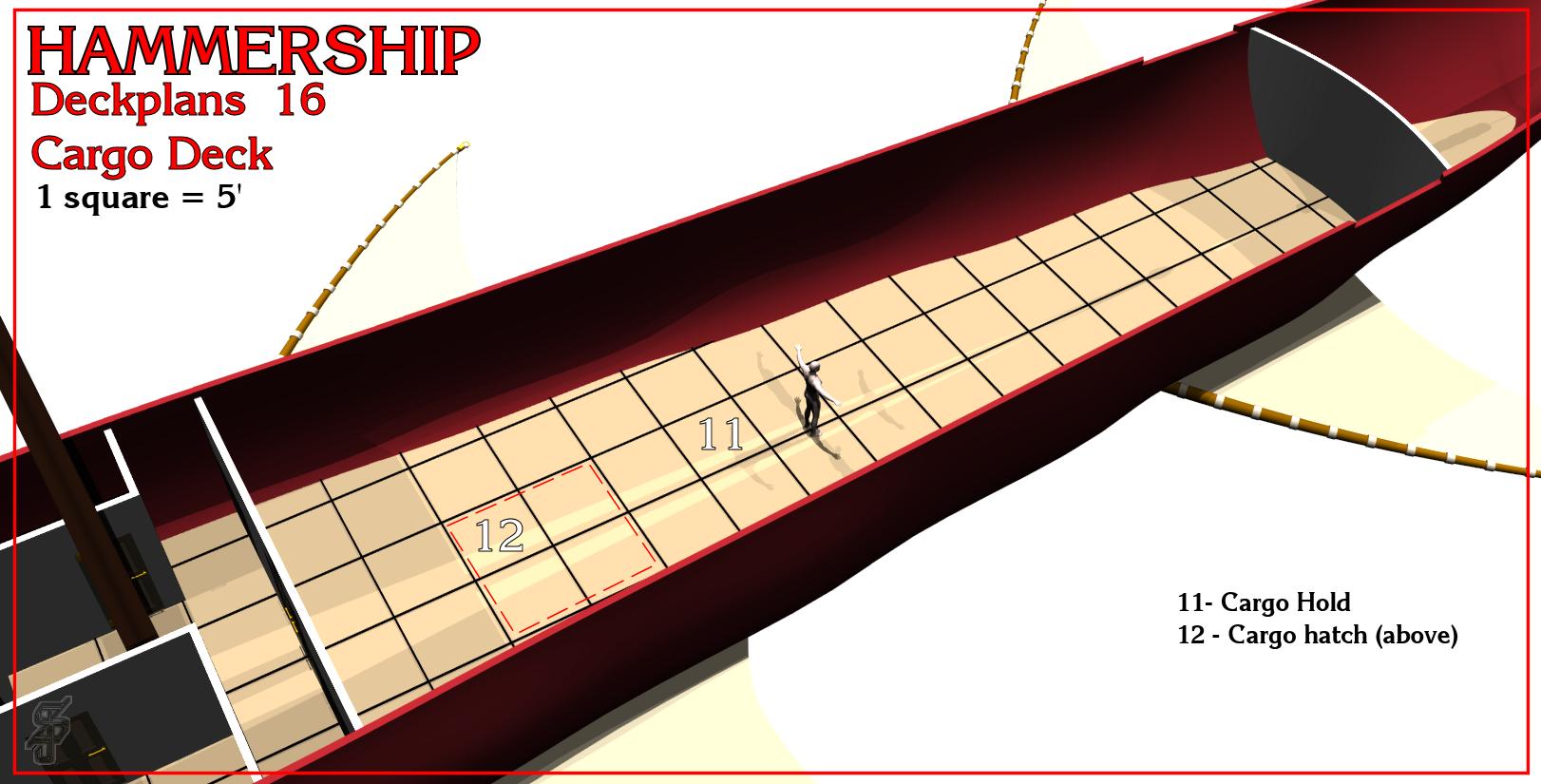 Hammership layout 16