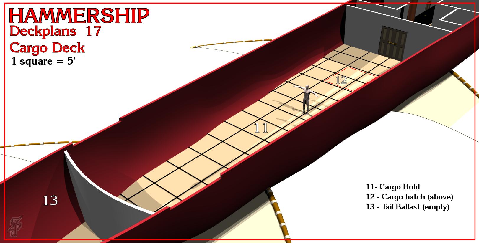 Hammership layout 17