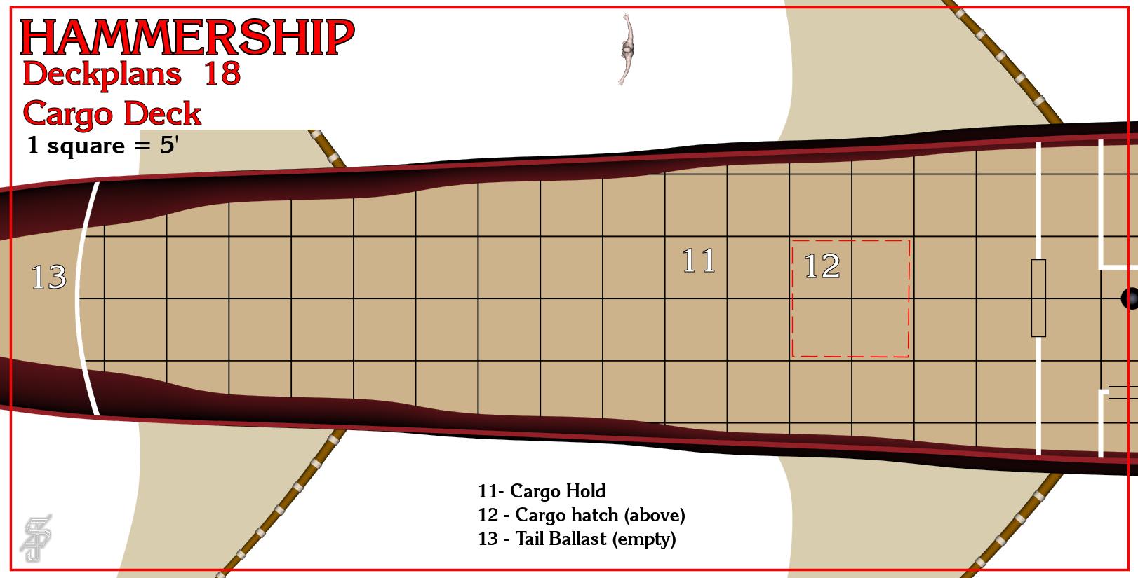 Hammership layout 18