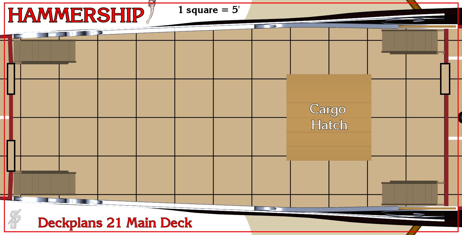 Hammership layout 21