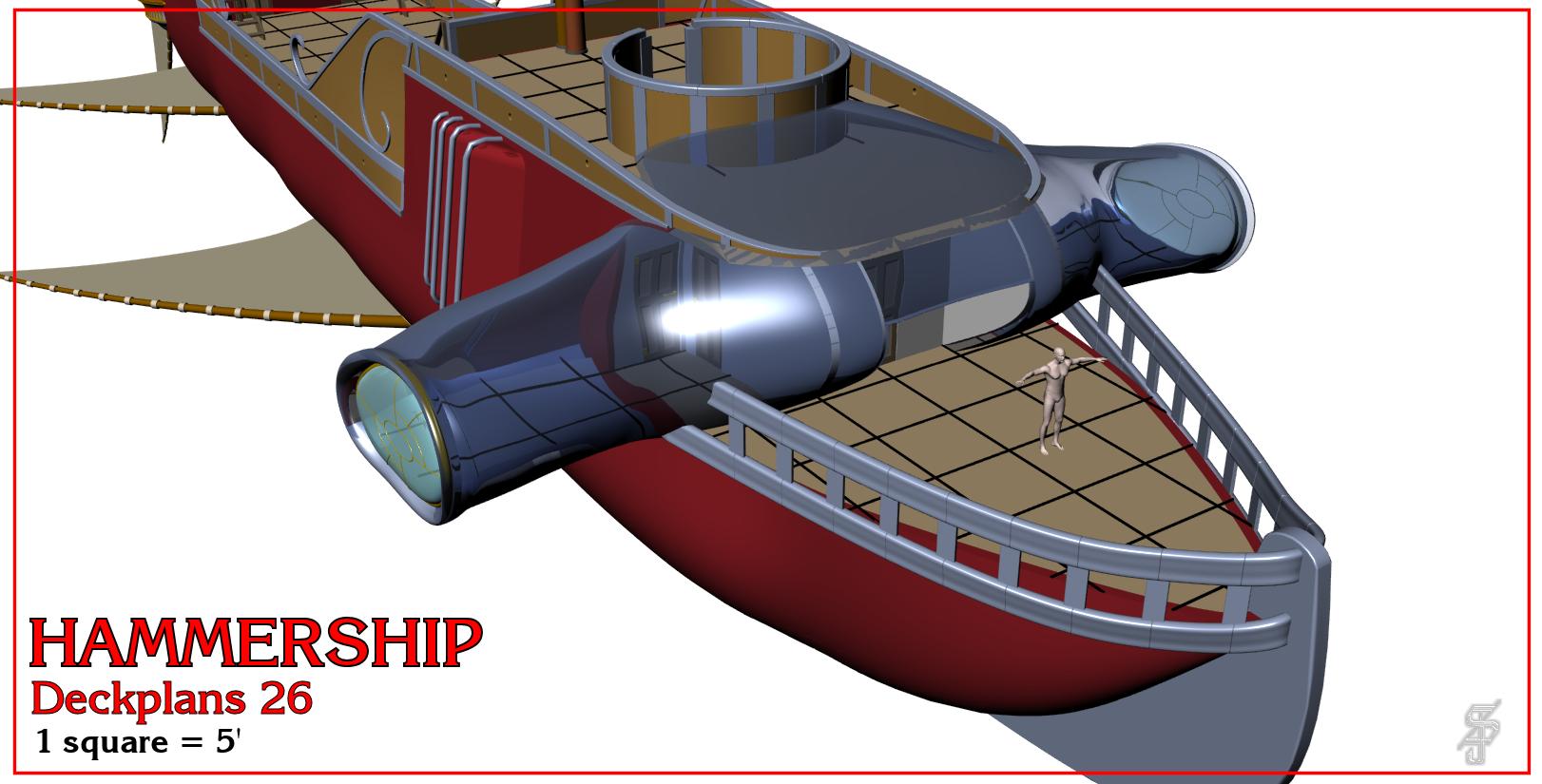 Hammership layout 26
