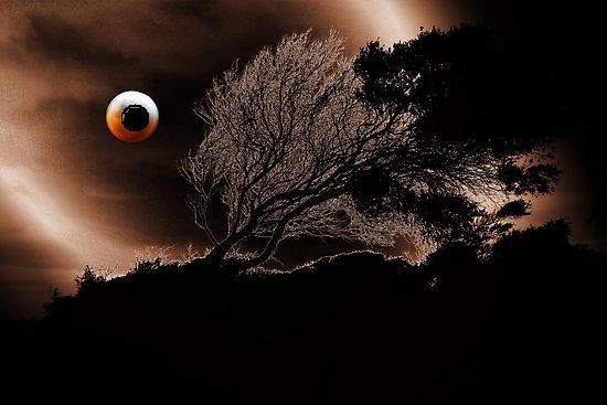 Eye of blood