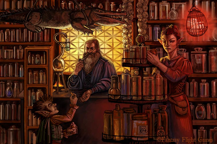 The alchemist shop by feliciacano