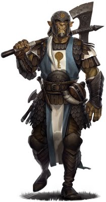 Orc cleric