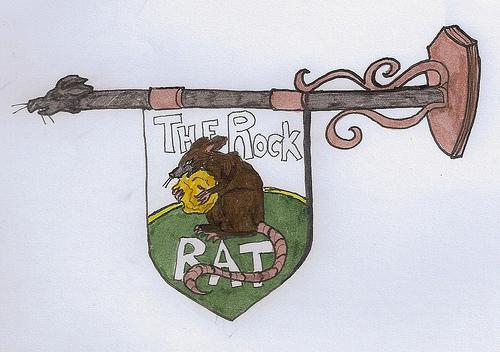 Rock rat sign