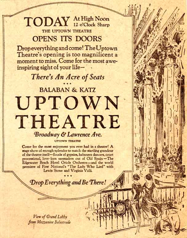 Uptown herald ad