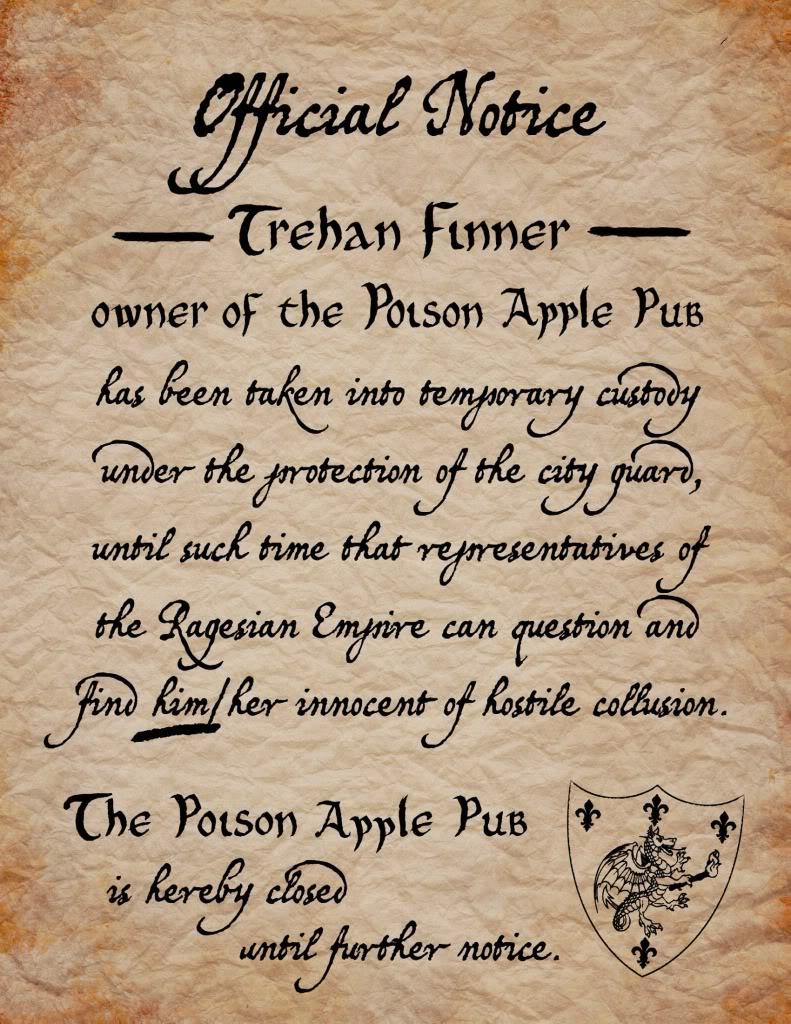 Poison apple notice