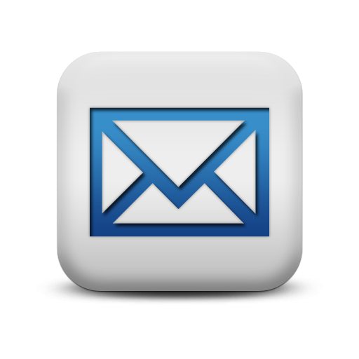 Blue envelope icon