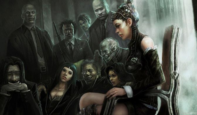 Vampires op