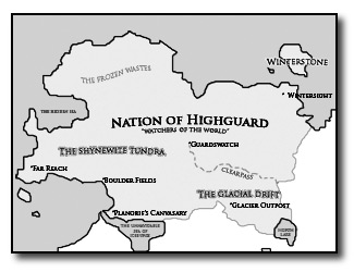 Mini Map of Highguard