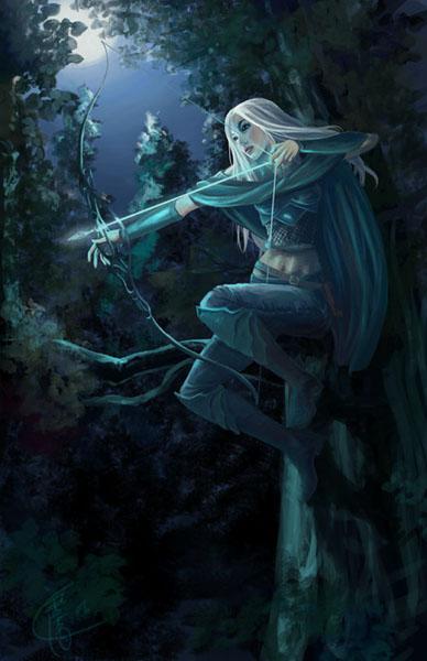 Elf ranger by sypri