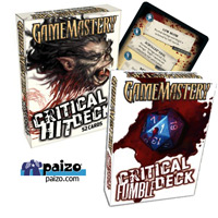 Gamemastery Critical & Fumble Decks