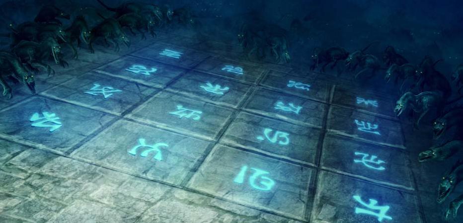 Glyph floor   drakes