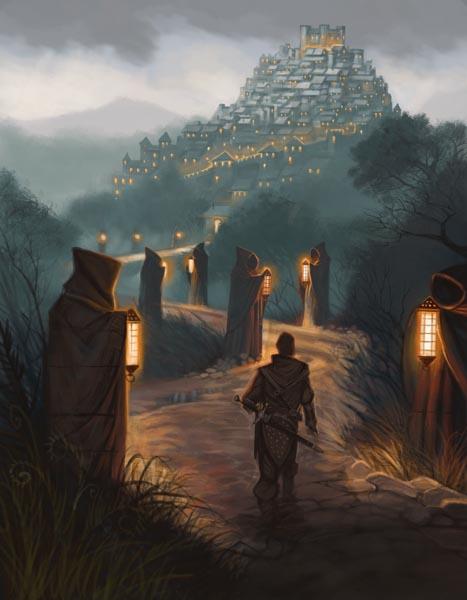 Lanternward trail