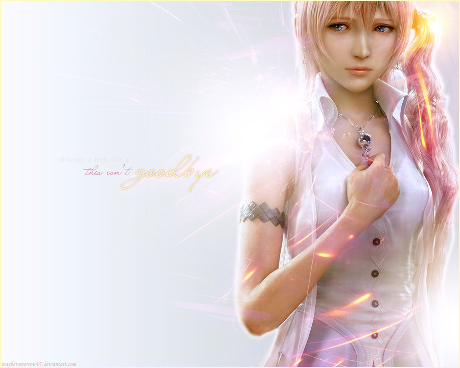 Serah isnt goodbye by maybe tomorrow07