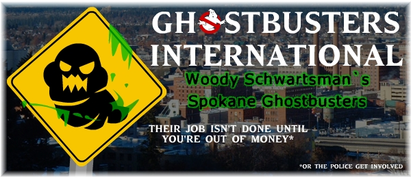 Woody Schwartsman's Spokane Ghostbusters